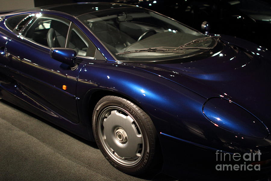 Transportation Photograph - 1992 Jaguar Xj220 - 7d17250 by Wingsdomain Art and Photography