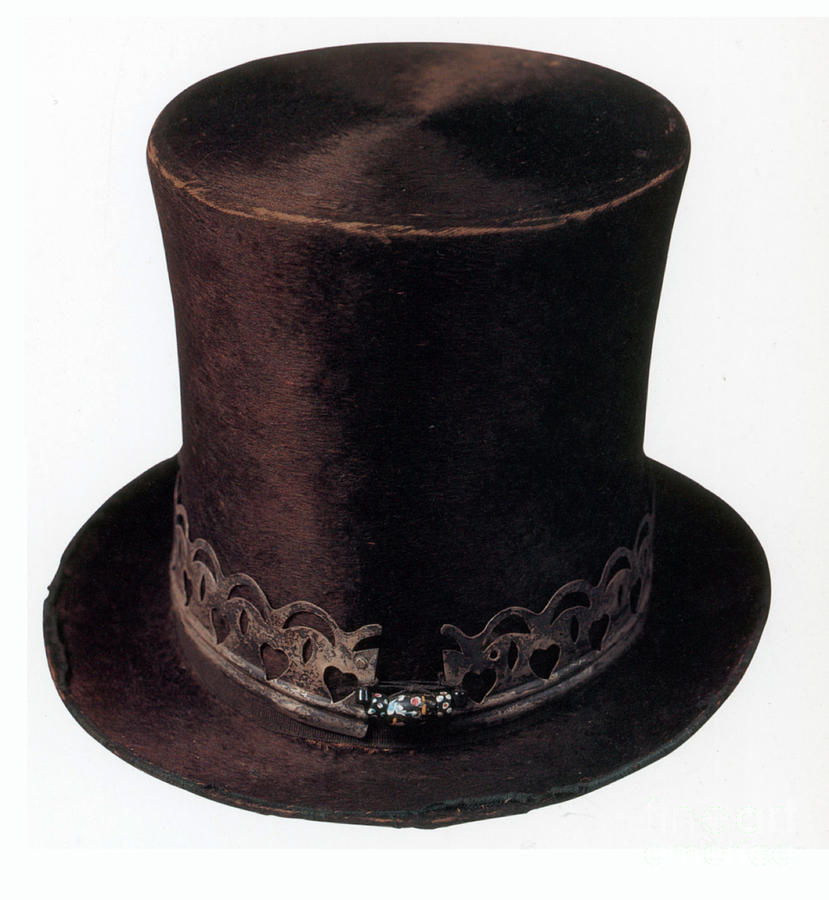 19th Century Beaver Hat Photograph by Photo Researchers bb634b4f802