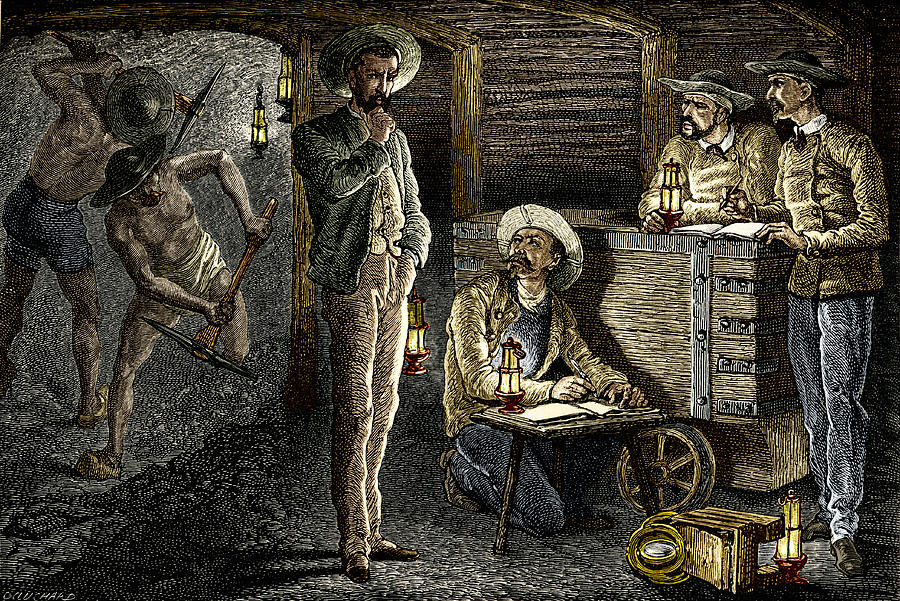Equipment Photograph - 19th-century Coal Mining by Sheila Terry