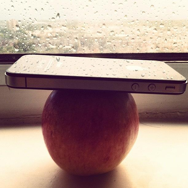 1st Creator Of The Apple Is Crying For Photograph by Nikhil Chawla