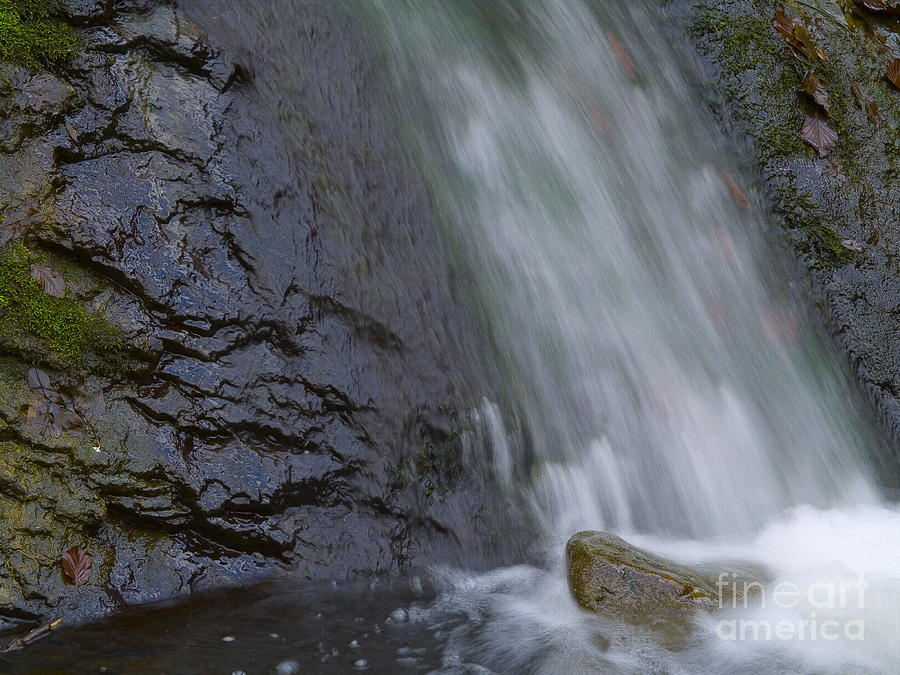 Nature Photograph -  Waterfall by Odon Czintos