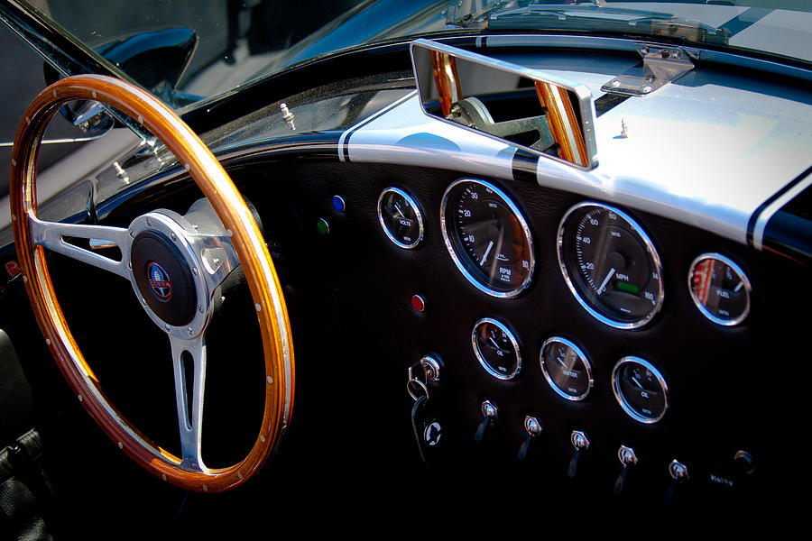 66 Photograph - 1966 Ford Ac Shelby Cobra 427 by David Patterson