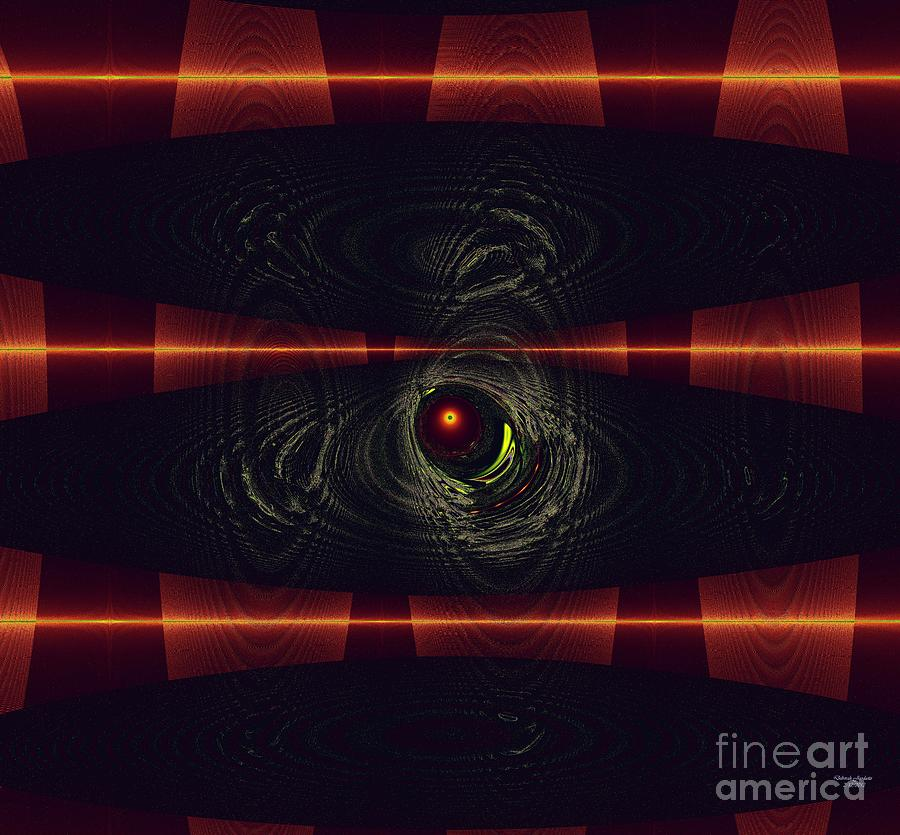 Americas Mixed Media - 2012 Solar Eclipse by Deborah Juodaitis