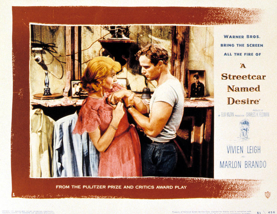 1951 Movies Photograph - A Streetcar Named Desire, Vivien Leigh by Everett