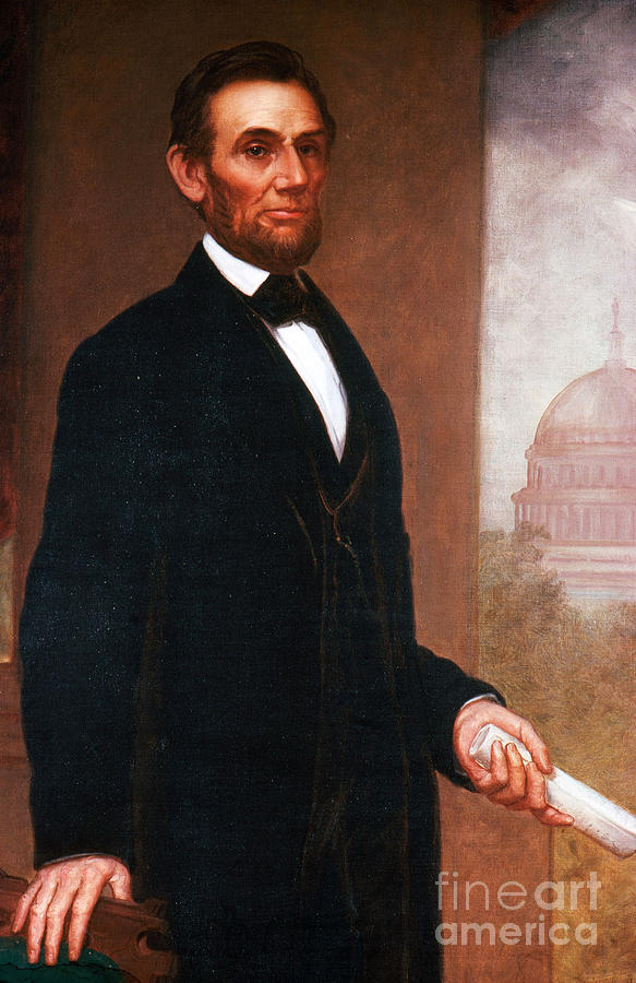 History Photograph - Abraham Lincoln, 16th American President by Photo Researchers