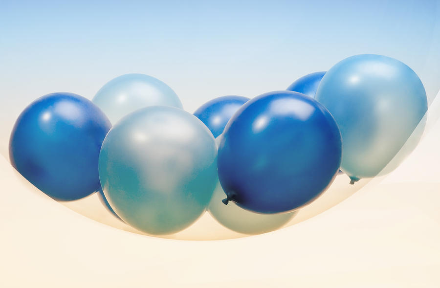 Contrasts Photograph - Abstract Balloon by Setsiri Silapasuwanchai