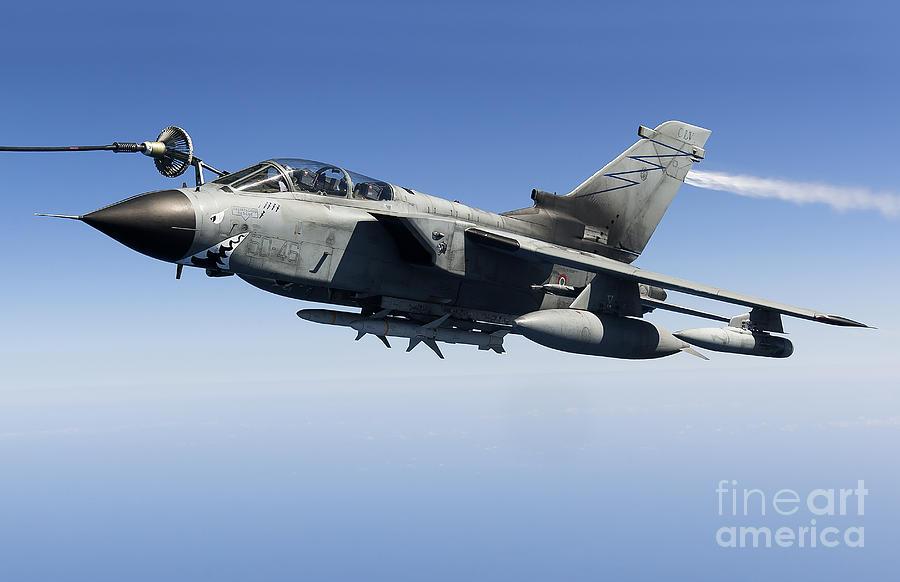 Agm-88 Photograph - An Italian Air Force Tornado Ids by Gert Kromhout