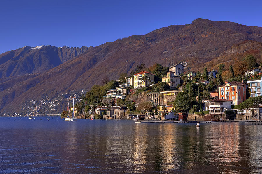 Lago Maggiore Photograph - Ascona by Joana Kruse