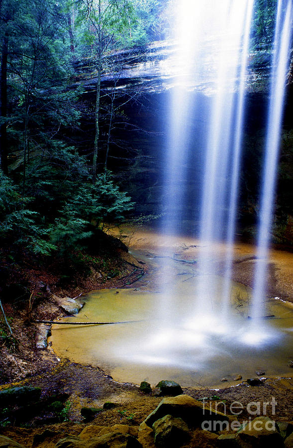 Waterfall Photograph - Ash Cave Waterfall by Thomas R Fletcher