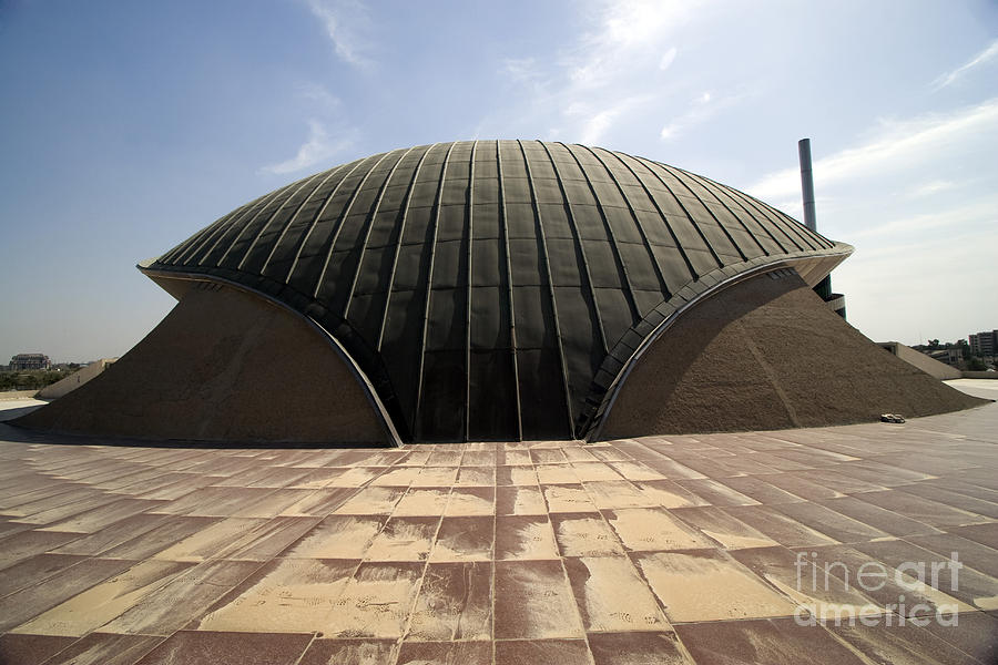 Baghdad Photograph - Baghdad, Iraq - A Great Dome Sits At 12 by Terry Moore