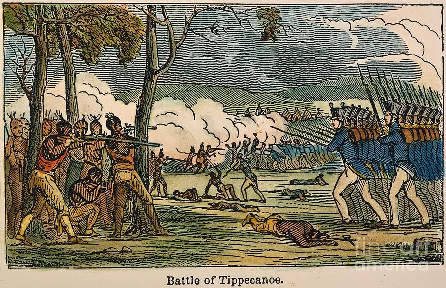 Battle Of Tippecanoe 1811 Photograph By Granger