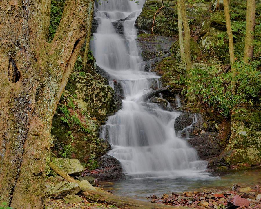 Waterfall Photograph - Buttermilk Falls by Stephen  Vecchiotti