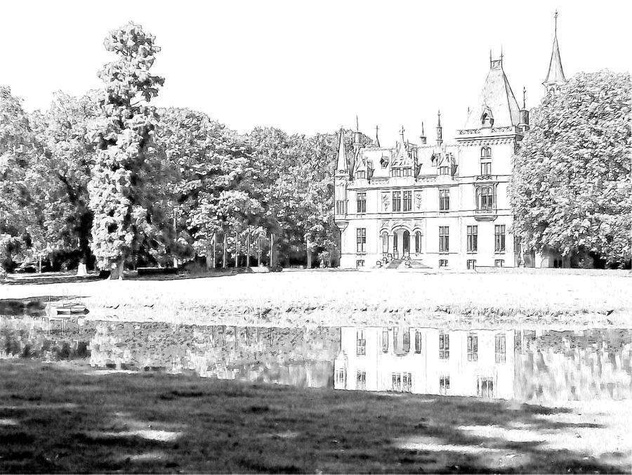 Europe Photograph - Chateau Aertrycke Torhout Belgium by Joseph Hendrix