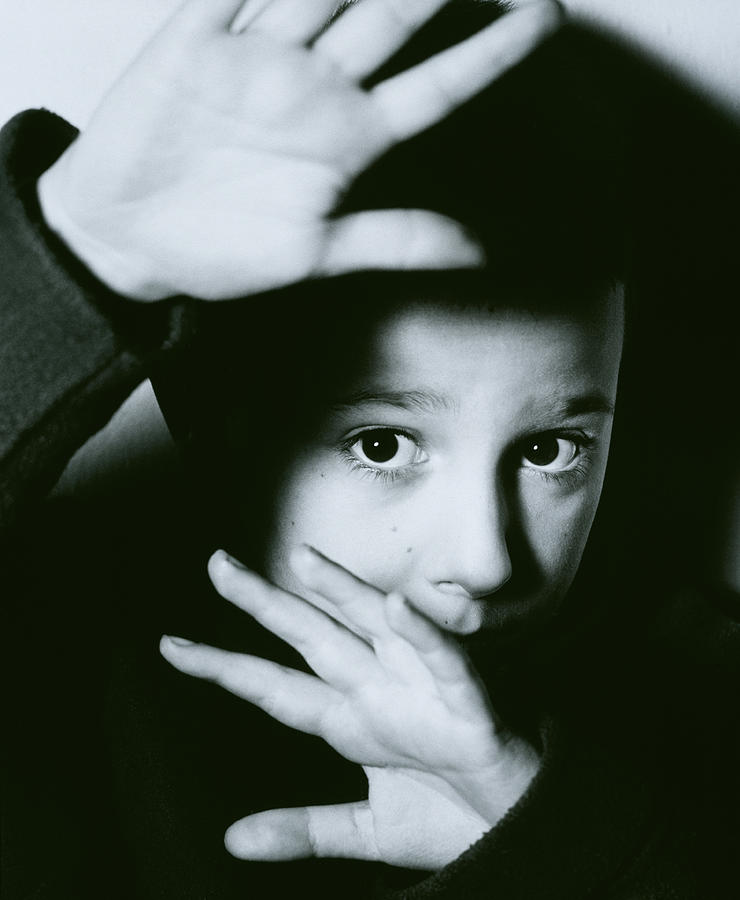 Child Abuse Photograph - Child Abuse by Mauro Fermariello