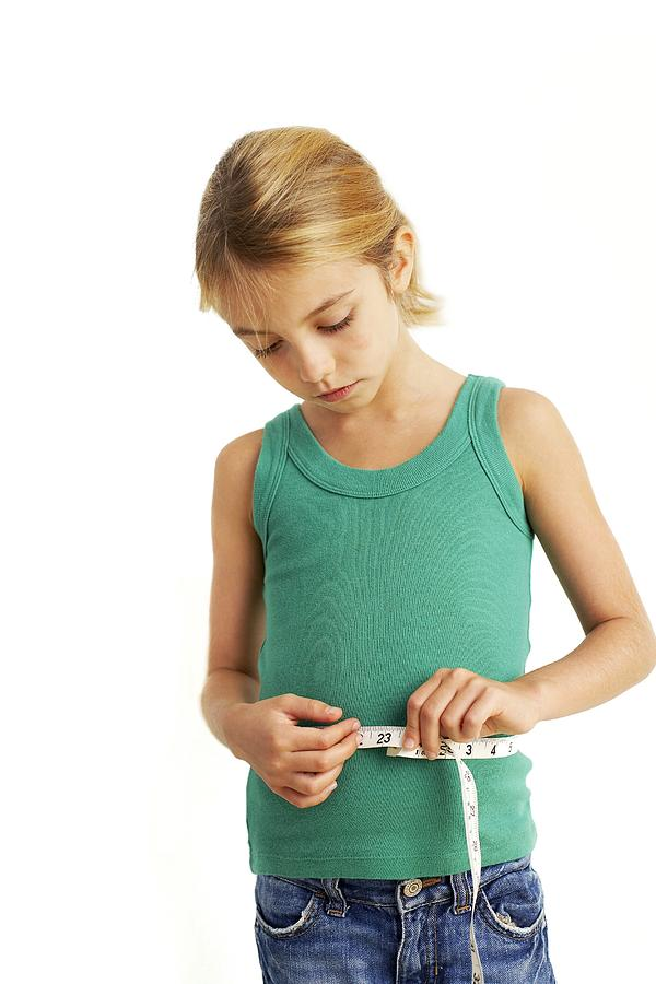 Tape Measure Photograph - Childhood Dieting by Ian Boddy