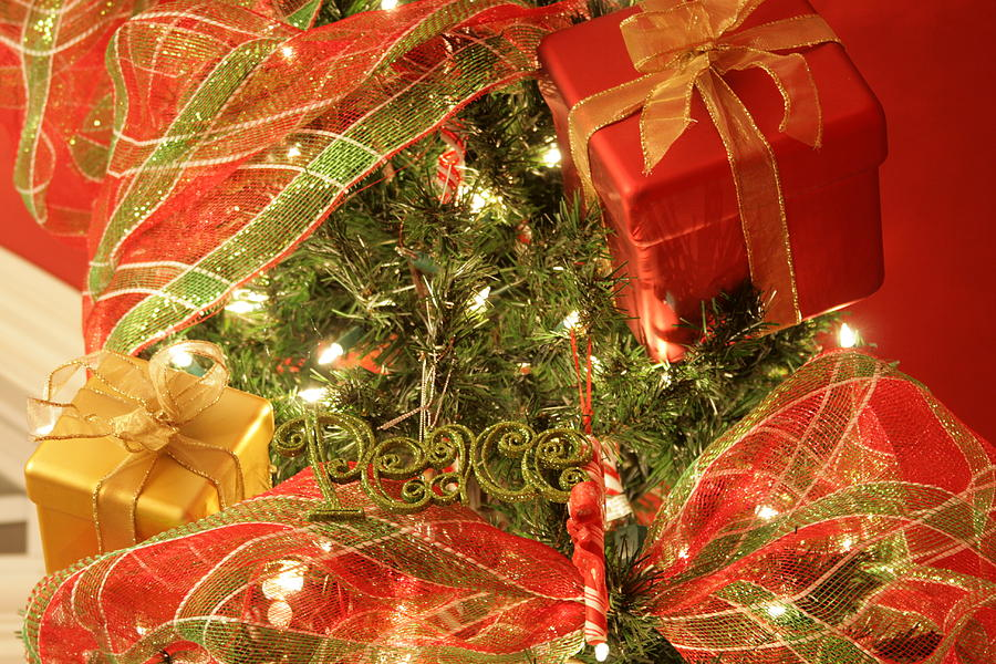 Christmas Photograph - Christmas Ornaments by Lonnie Moore