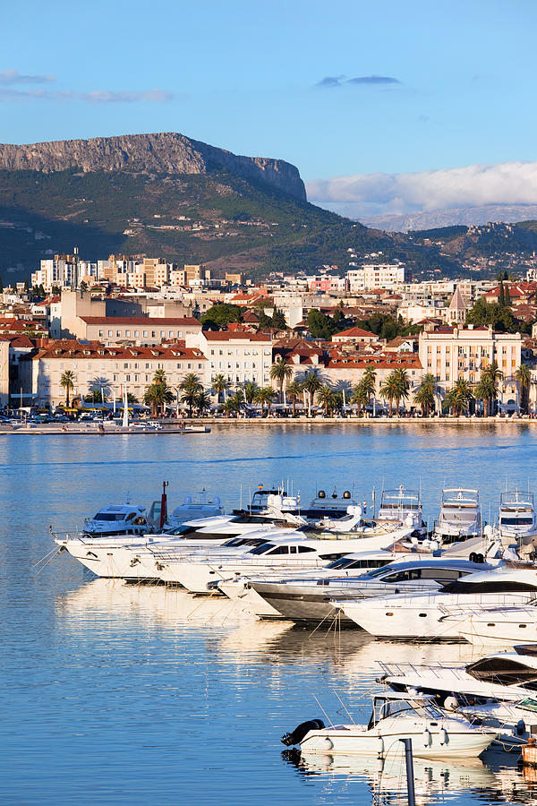Adriatic Photograph - City Of Split In Croatia by Artur Bogacki