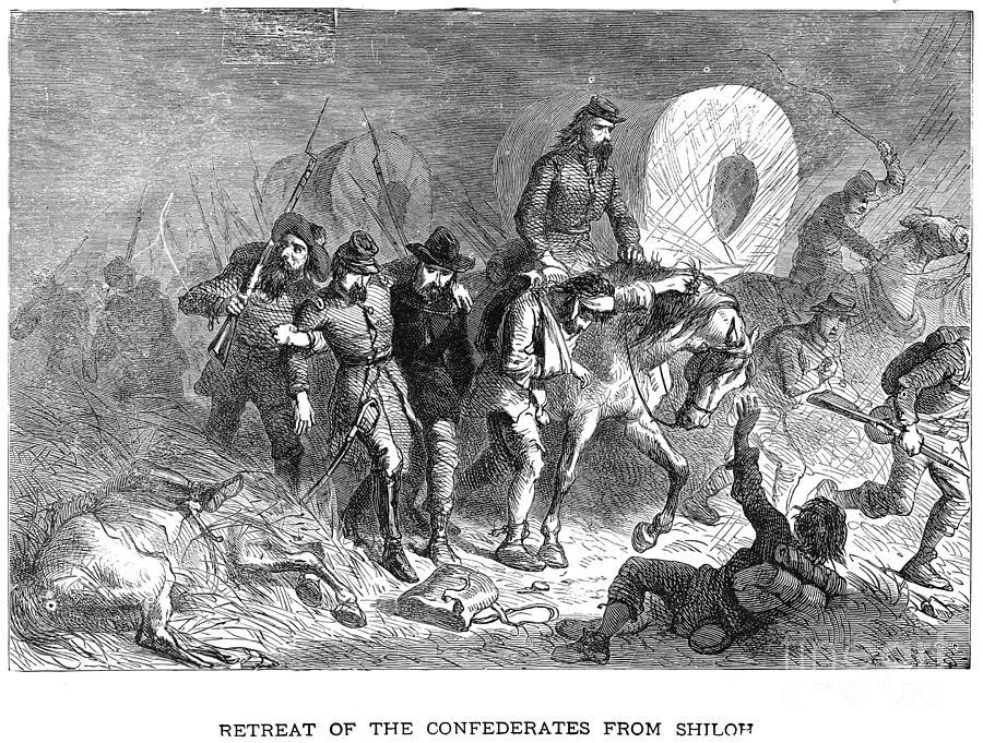 1862 Photograph - Civil War: Shiloh, 1862 by Granger