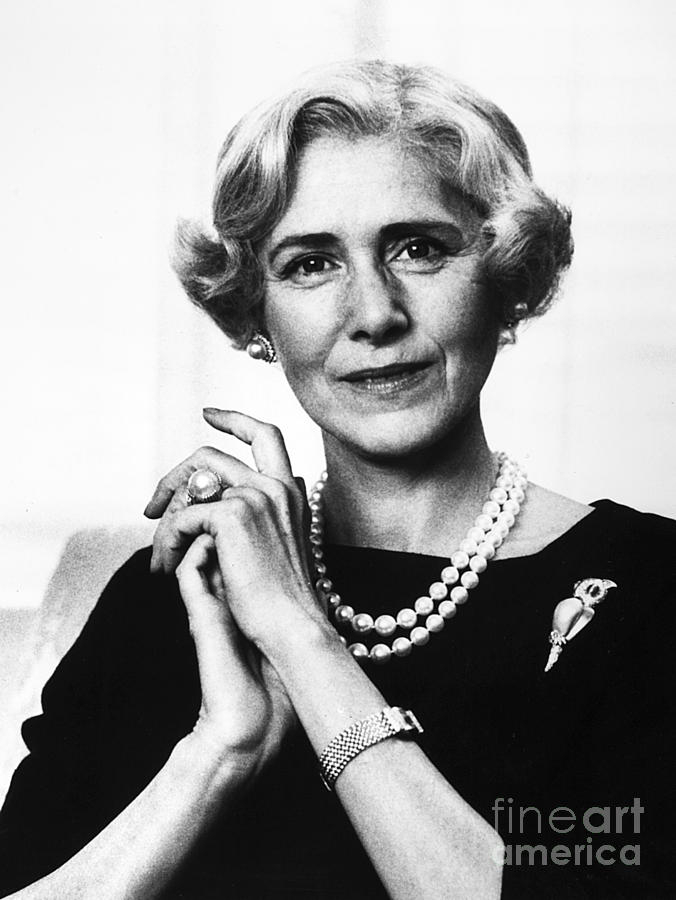 1963 Photograph - Clare Boothe Luce (1903-1987) by Granger
