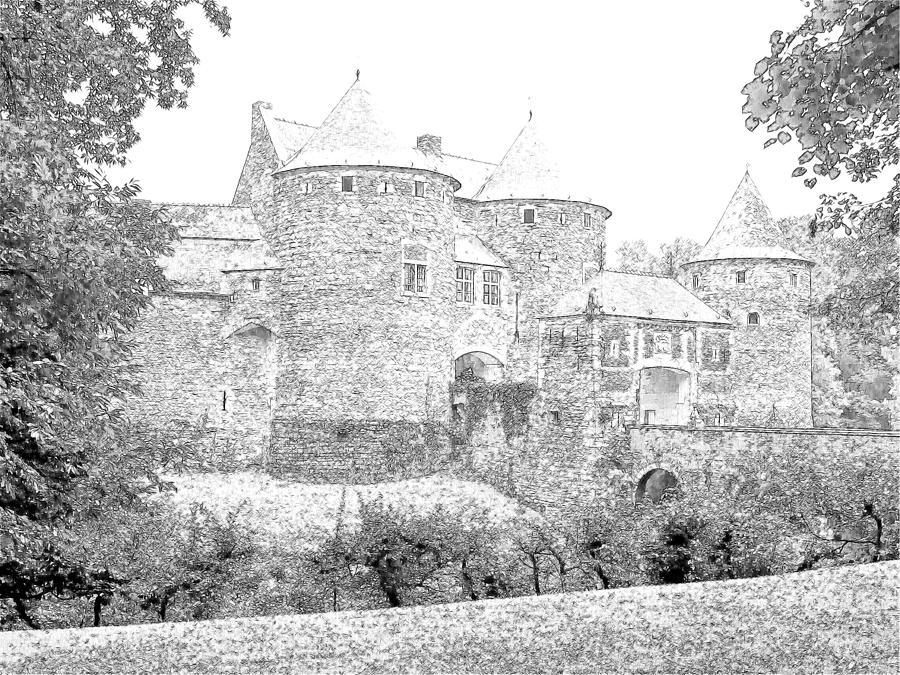 Europe Belgium Photograph - Corroy Le Chateau Gembloux Belgium by Joseph Hendrix