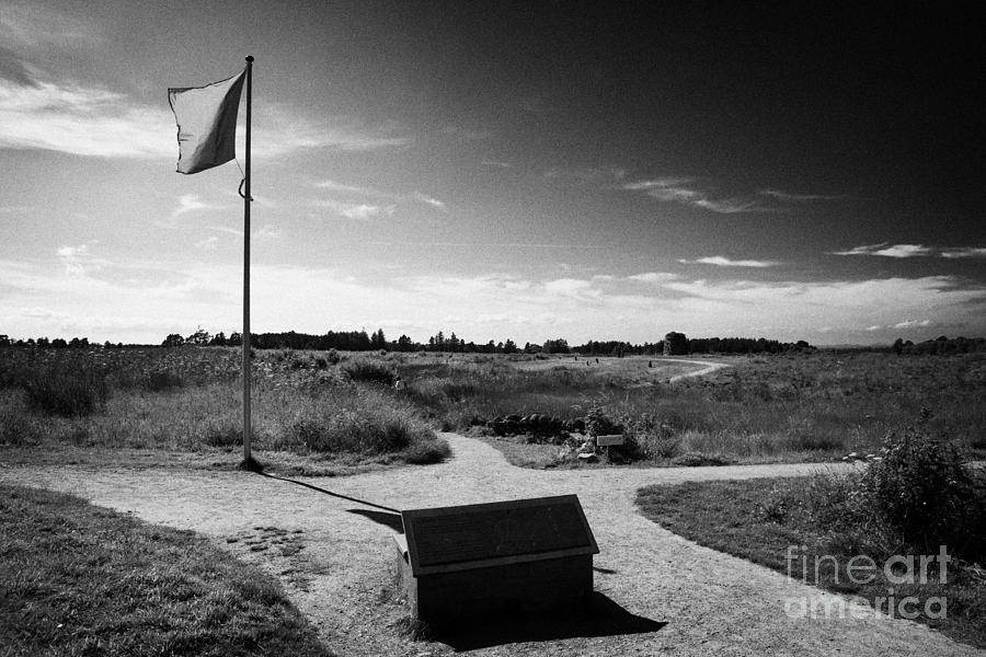 Culloden Photograph - Culloden Moor Battlefield Site Highlands Scotland by Joe Fox