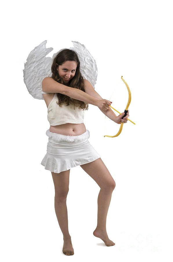Enjoyment Photograph - Cupid The God Of Desire by Ilan Rosen