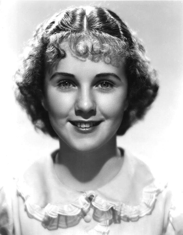 Durbin Photograph - Deanna Durbin, 1936 by Everett