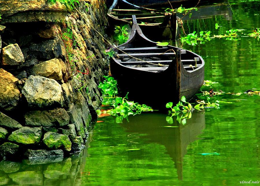 Docked Photograph by Vinod Nair