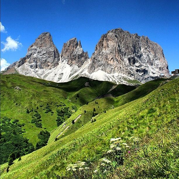 Alps Photograph - Dolomites by Luisa Azzolini