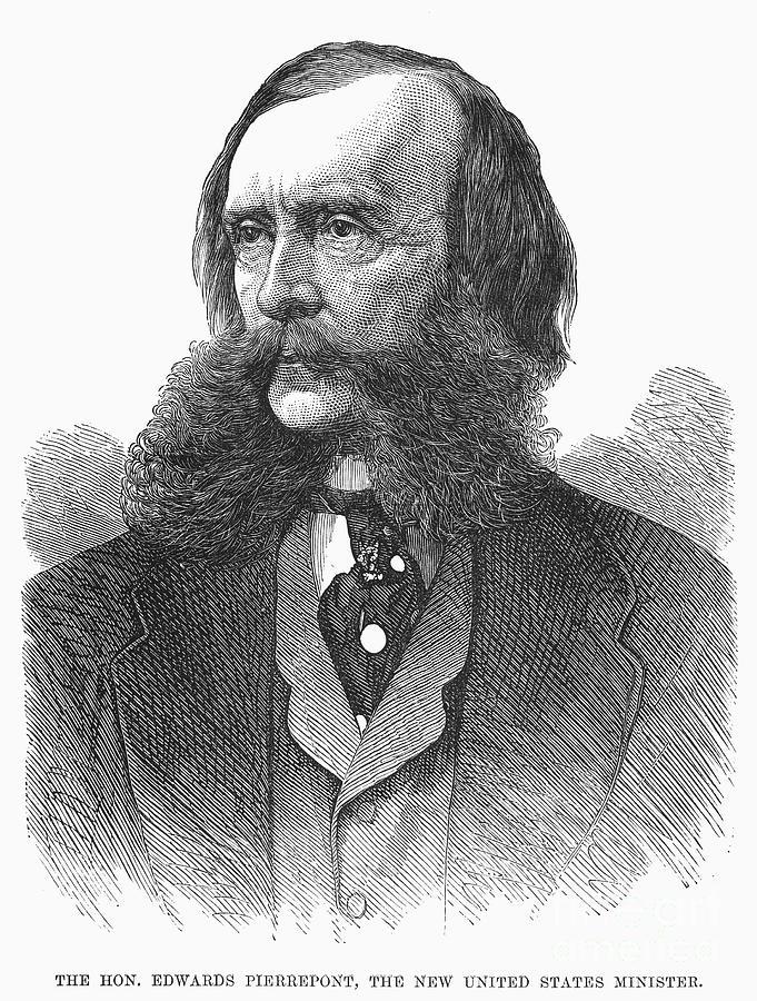 1876 Photograph - Edwards Pierrepont by Granger