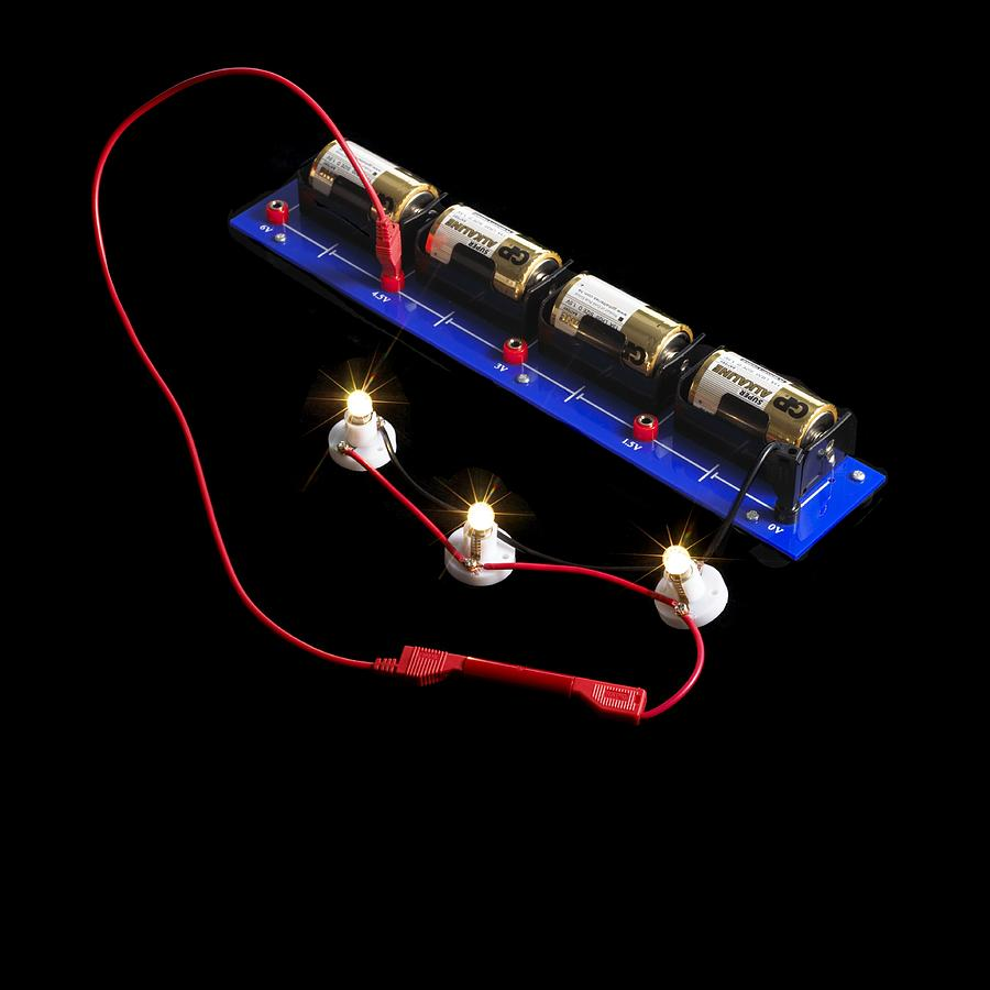 Experiment Photograph - Electrical Circuit by