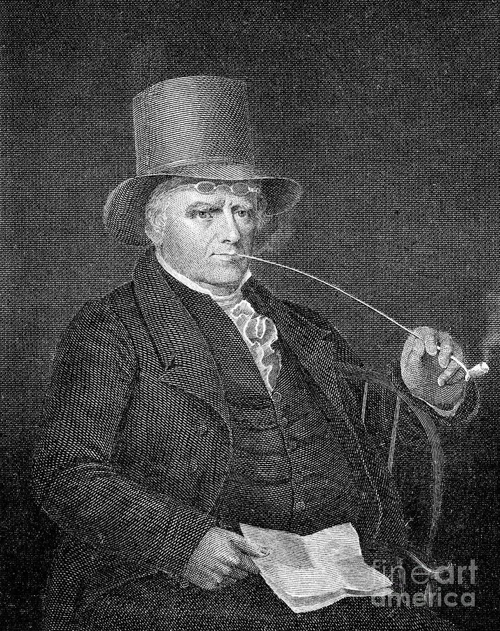 19th Century Photograph - Elkanah Watson (1758-1842) by Granger