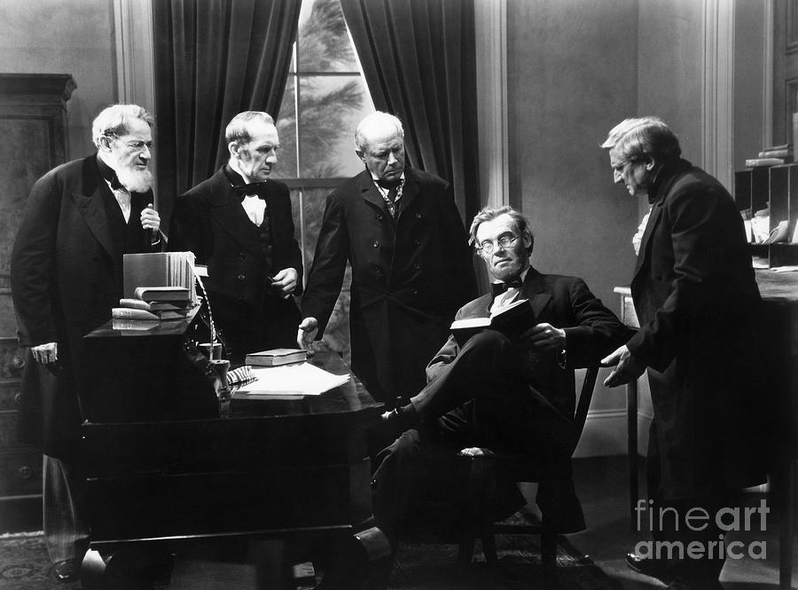 1930 Photograph - Film Still: Abraham Lincoln by Granger
