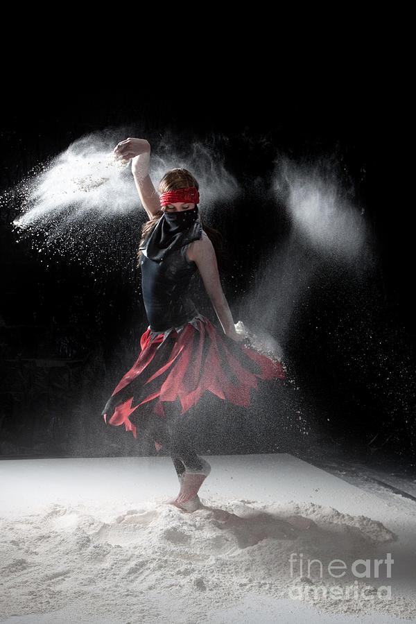 Dancing Photograph - Flour Dancer Series by Cindy Singleton