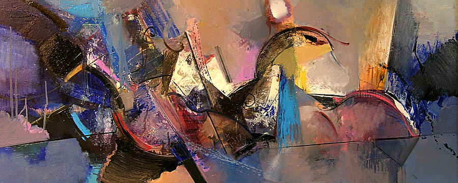 Abstract Painting - Follow The Dream by Ognian Kuzmanov