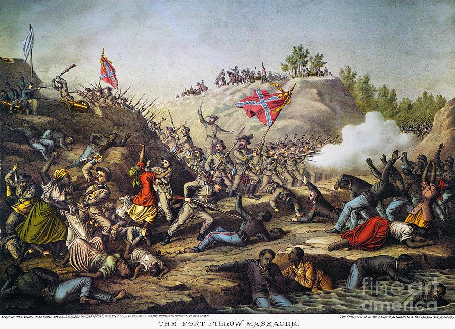 Fort Pillow Massacre 1864 Photograph By Granger