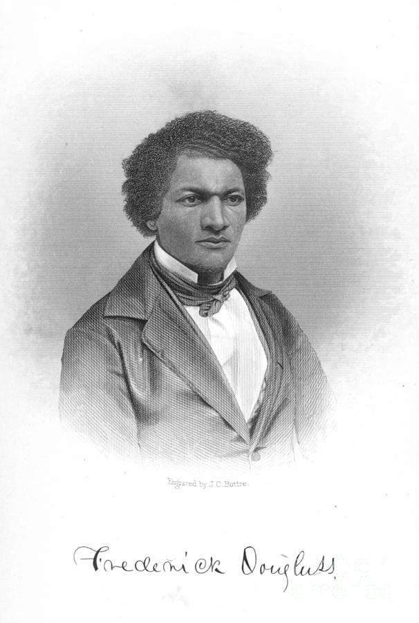 19th Century Photograph - Frederick Douglass by Granger