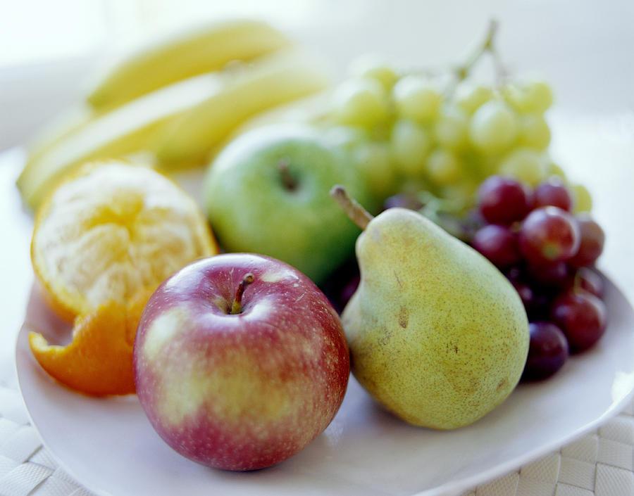 Balanced Diet Photograph - Fruits by David Munns