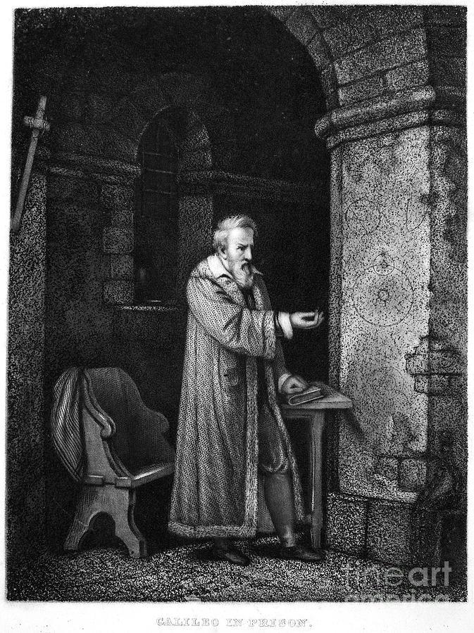 Astronomer Photograph - Galileo Galilei (1564-1642) by Granger