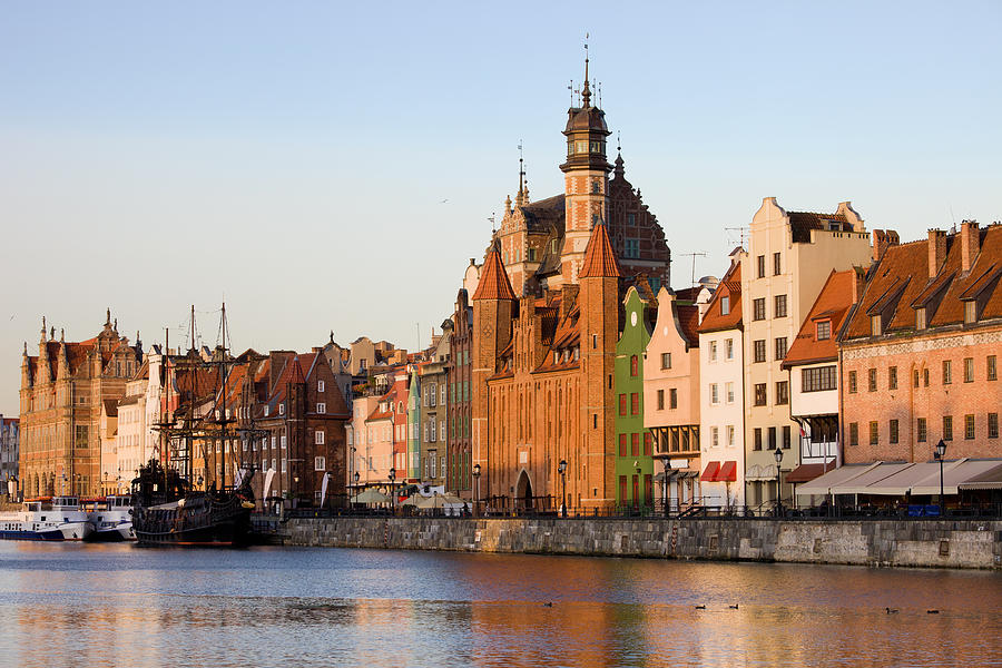 Apartment Photograph - Gdansk Old Town In Poland by Artur Bogacki