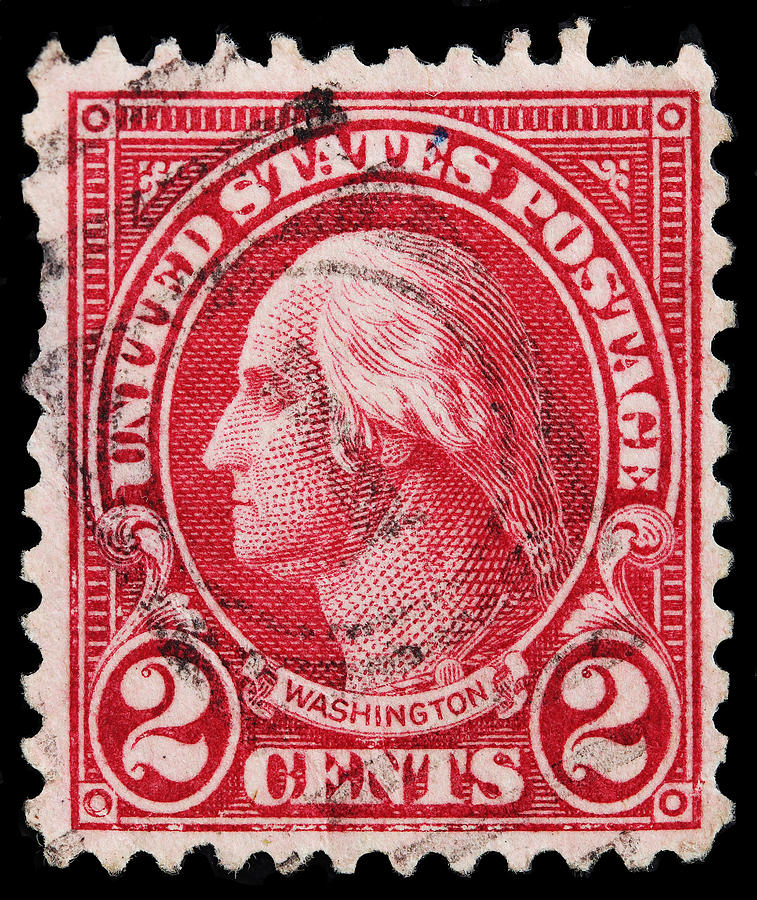 George Washington Postage Stamp Photograph By James Hill