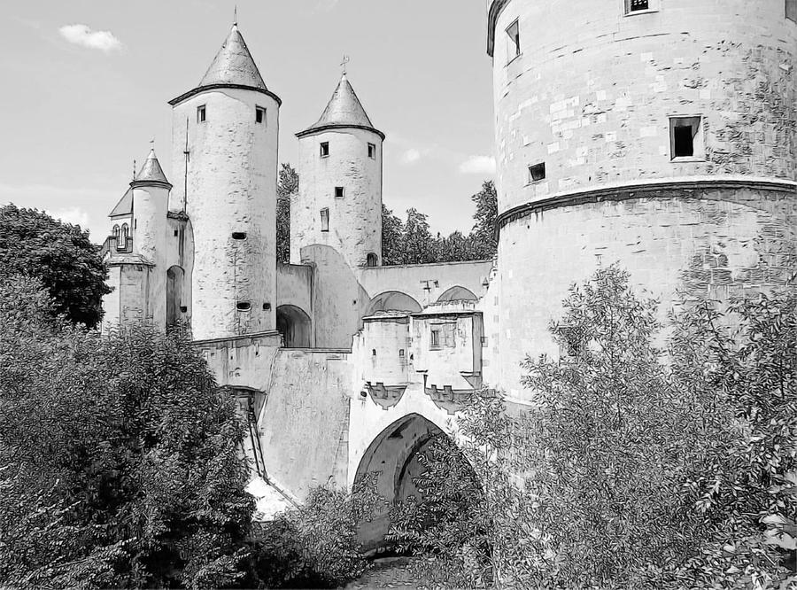 Europe Photograph - Germans Gate Metz France by Joseph Hendrix