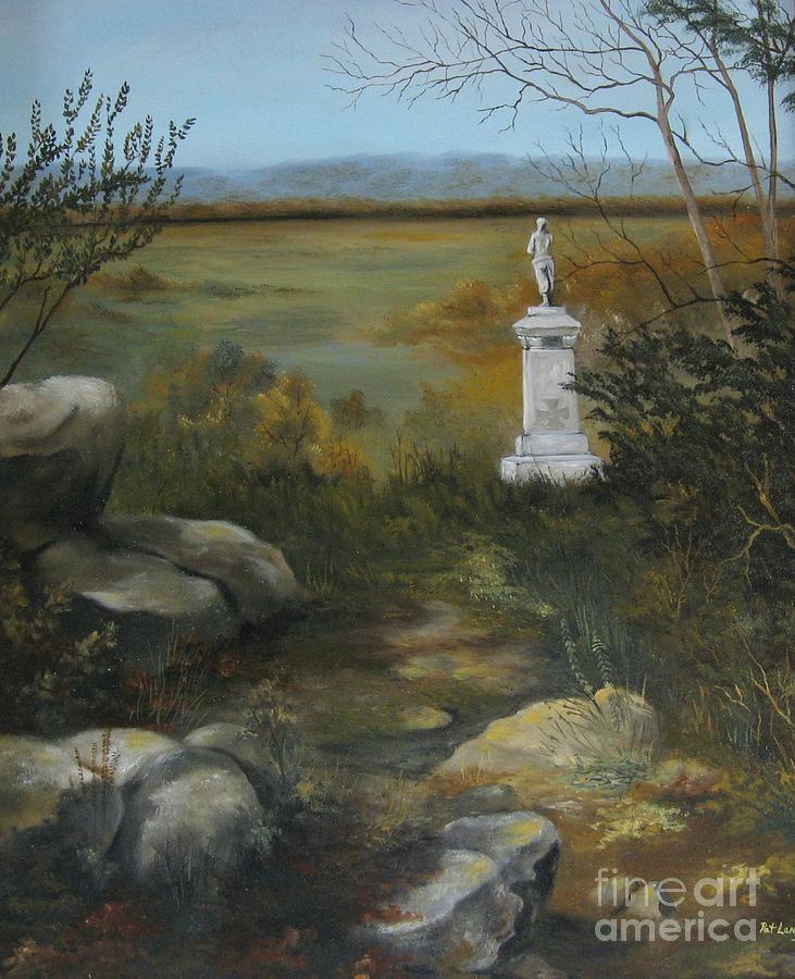 Gettysburg Painting - Gettysburg Monument by Patricia Lang