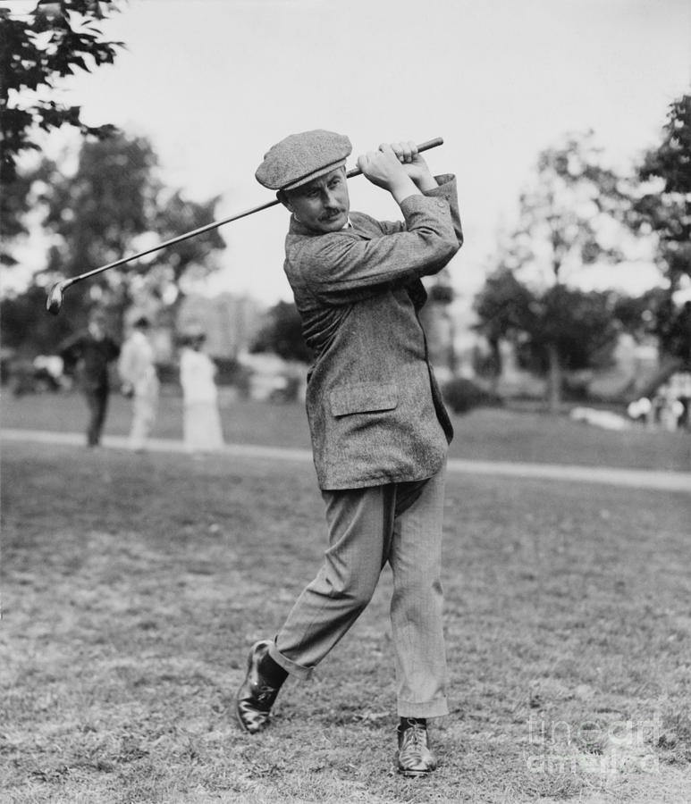1914 Photograph - Harry Vardon (1870-1937) by Granger