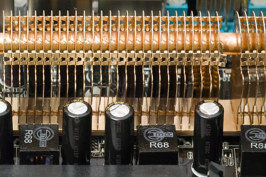 Device Photograph - Heat Sink by Paul Rapson