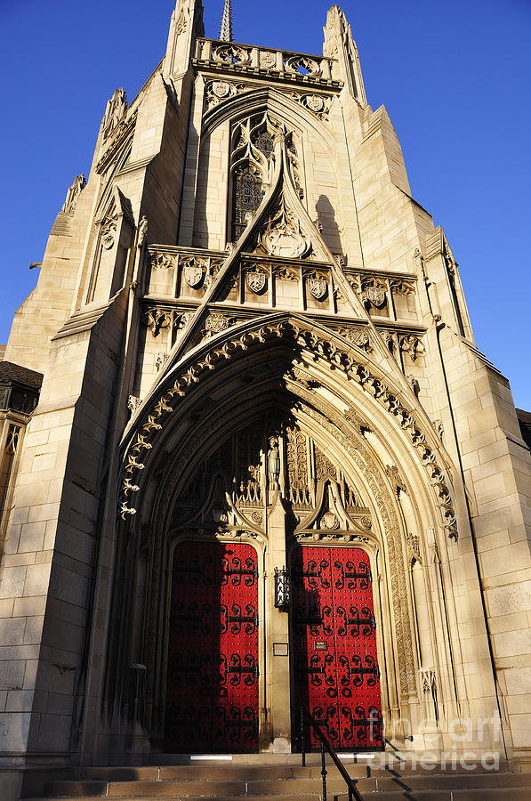 Heinz Chapel Photograph - Heinz Chapel Doors by Thomas R Fletcher
