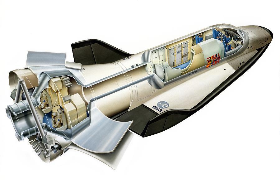 hermes space shuttle - photo #10