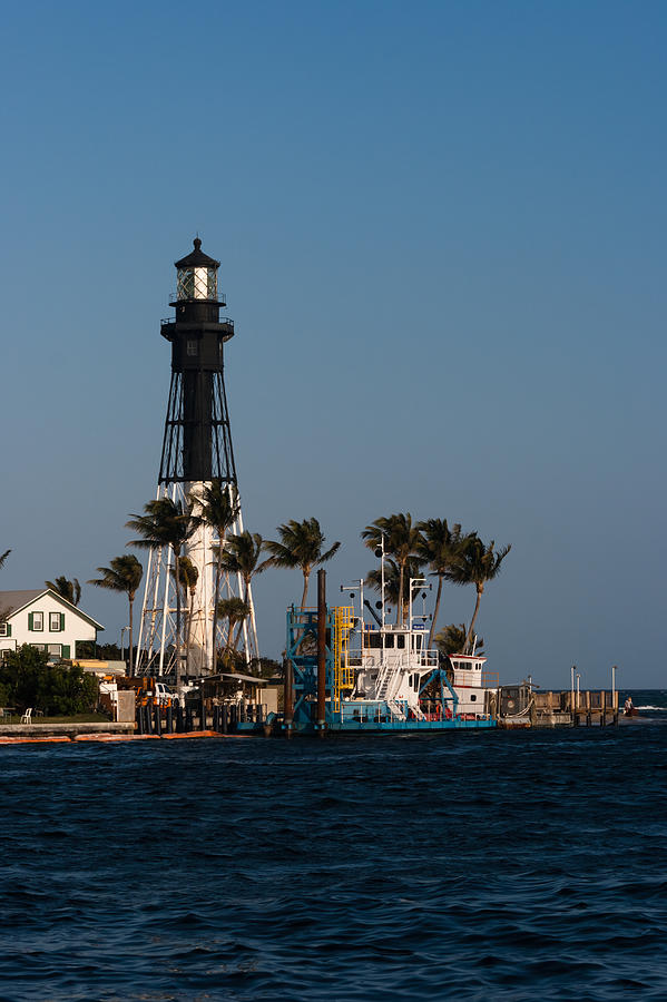 Architecture Photograph - Hillsboro Inlet Lighthouse by Ed Gleichman