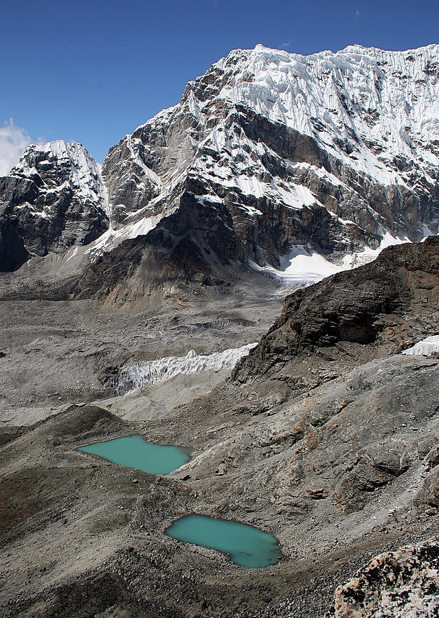 Vertical Photograph - Himalayan Landscape by Pal Teravagimov Photography