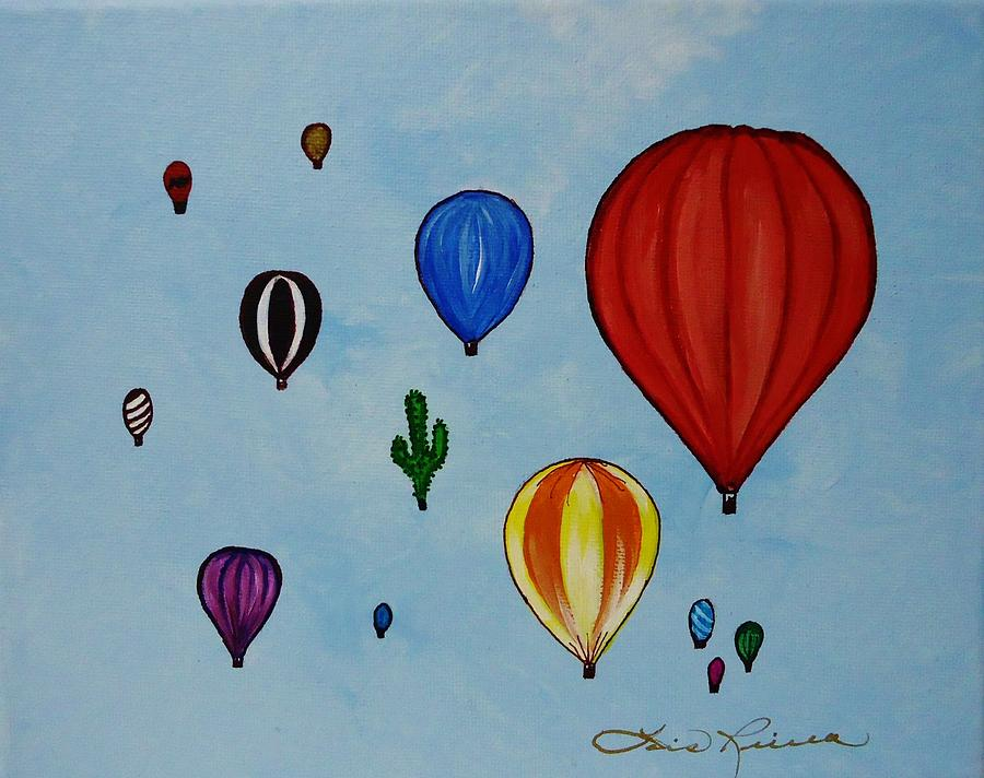 Famous Hot Air Balloon Paintings